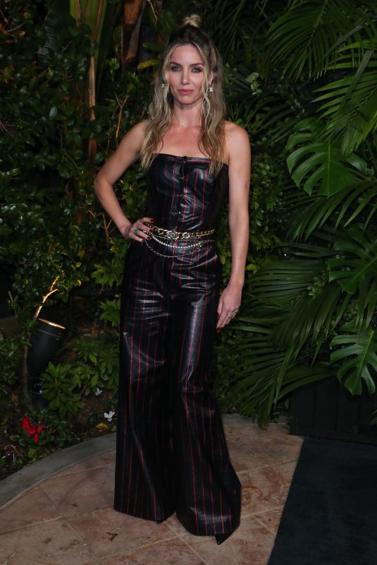 ANNABELLE WALLIS at Charles Finch and Chanel Pre-oscar Awards in Los Angeles 02/08/2020