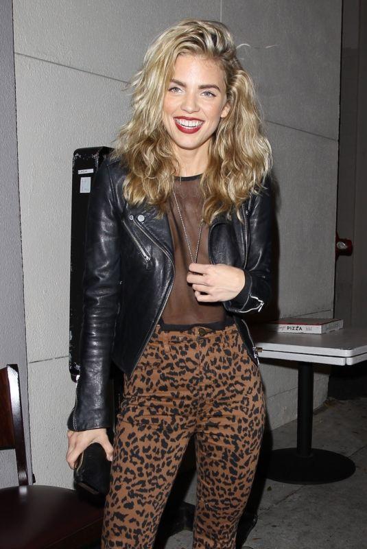 ANNALYNNE MCCORD at Craig's Restaurant in West Hollywood 02/18/2020