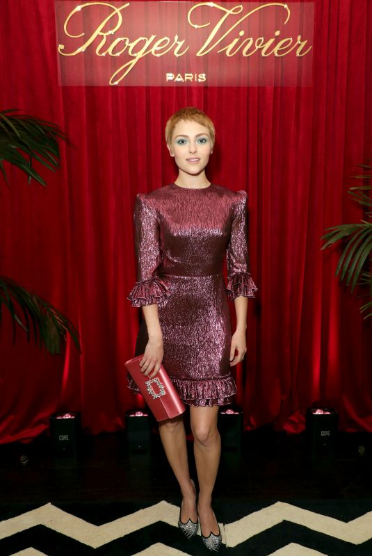 ANNASOPHIA ROBB at Roger Vivier's Abracashoes Premiere in Los Angeles 01/30/2020