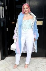 ANNE MARIE Out and About in London 02/04/2020