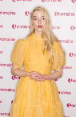 ANYA TAYLOR-JOY at Lorraine Show in London 02/12/2020