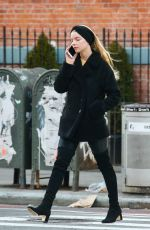 ANYA TAYLOR-JOY Out and About in New York 02/25/2020