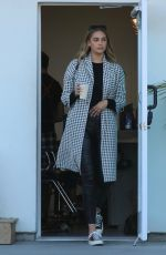 APRIL LOVE GEARY Leaves a Salon at Malibu Country Mart 02/05/2020