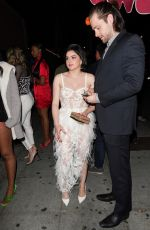 ARIEL WINTER and Luke Benward Night Out in West Hollywood 02/08/2020