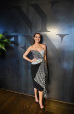 ARIELLE KEBBEL at Tadashi Shoji Show at New York Fashion Week 02/06/2020