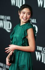 ASHLEY LIAO at The Call of the Wild Premiere in Los Angeles 02/13/2020