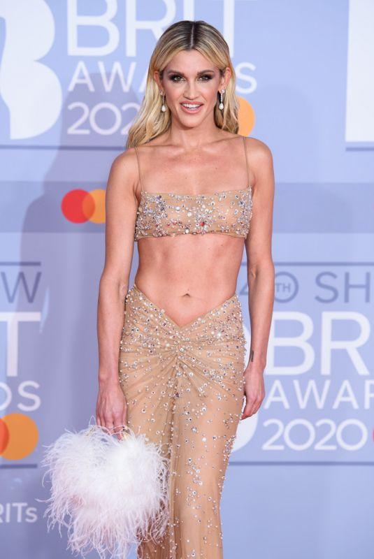 ASHLEY ROBERTS at Brit Awards 2020 in London 02/18/2020