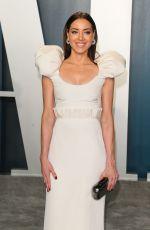 AUBREY PLAZA at 2020 Vanity Fair Oscar Party in Beverly Hills 02/09/2020