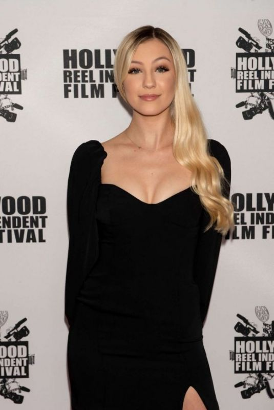 AVA SAMBORA at A Dark Foe Premiere in Los Angeles 02/19/2020