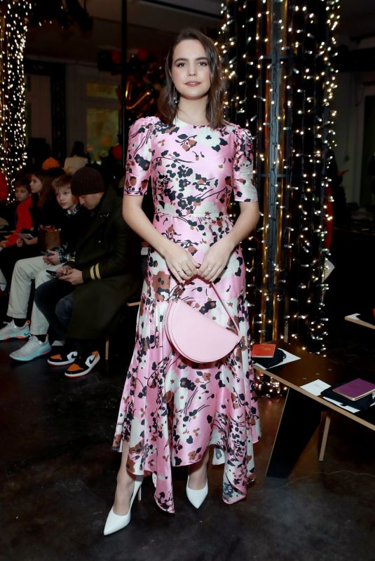 BAILEE MADISON at Veronica Beard Fashion Show at NYFW in New York 02/10/2020