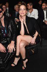 BARBARA PALVIN at Versace Fashion Show at Milan Fashion Week 02/21/2020