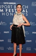 BEL POWLEY at Newport Beach Film Festival UK Honours 2020 in London 01/29/2020