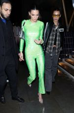 BELLA HADID and KENDALL JENNER Arrives at Sony Brit Awards After-party in London 02/18/2020