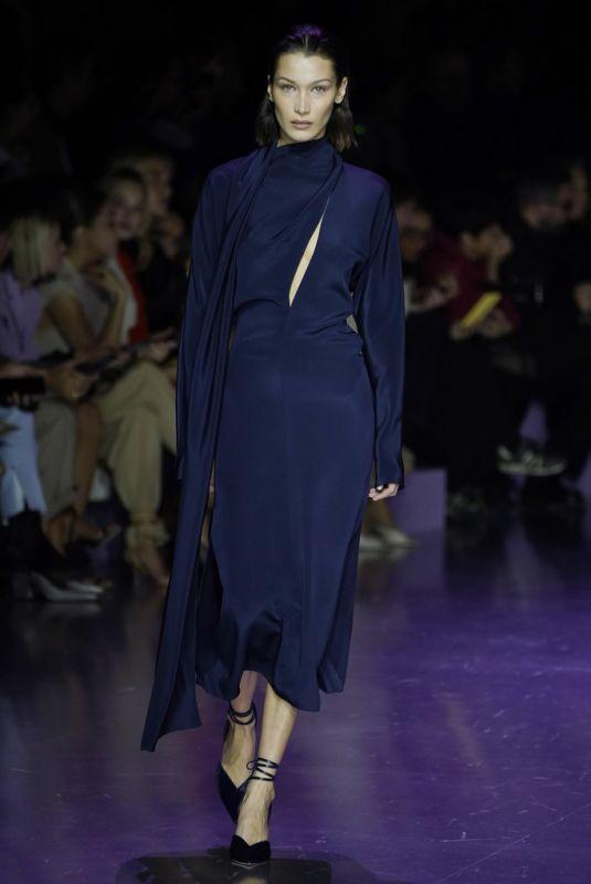 BELLA HADID at Boss Show at Milan Fashion Week 02/23/2020