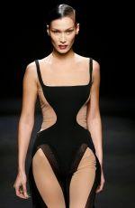 BELLA HADID at Mugler Runway Show at Paris Fashion Week 02/26/2020