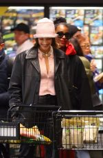 BELLA HADID, JUSTINE SKYE and KENDALL JENNER at Whole Foods in New York 02/14/2020