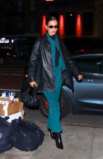 BELLA HADID Night Out in New York 02/08/2020