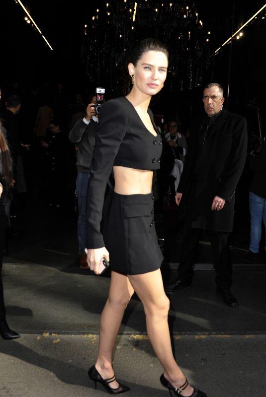 BIANCA BALTI Out at Milan Fashion Week 02/23/2020