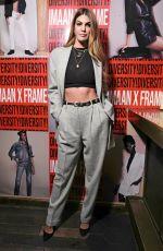 BIANCA BRANDOLINI at Frame x Imaan Dinner at New York Fashion Week 02/07/2020