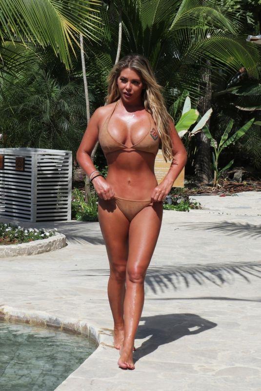 BIANCA GASCOIGNE in Bikini at a Pool in Thailand 02/07/2020