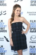 BILLIE LOURD at 2020 Film Independent Spirit Awards in Santa Monica 02/08/2020