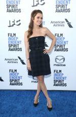 BILLIE LOURD at 2020 Film Independent Spirit Awards in Santa Monica 02/08/2020