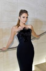 BILLIE LOURD at Tom Ford Fashion Show in Los Angeles 02/07/2020