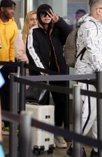 BLAC CHYNA at LAX Airport in Los Angeles 02/05/2020