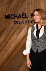 BLAKE LIVELY at Michael Kors Show at New York Fashion Week 02/12/2020