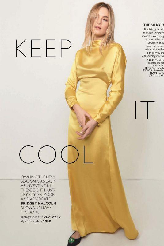 BRIDGET MALCOM in Instyle Magazine, Australia March 2020