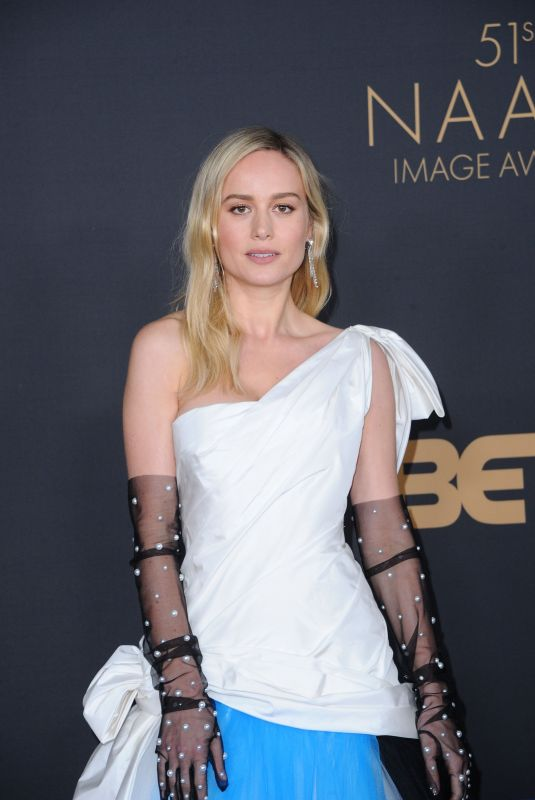BRIE LARSON at 51st Naacp Image Awards in Pasadena 02/22/2020