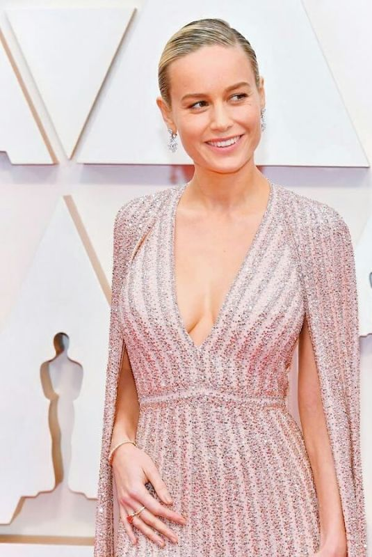 BRIE LARSON at 92nd Annual Academy Awards in Los Angeles 02/09/2020