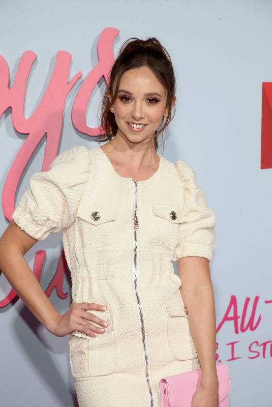BRITT BARON at To All the Boys: P.S. I Still Love You Premiere in Hollywood 02/03/2020