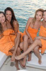 BROOKE BURKE and Her Girlfriends in Bikinis in Dominican Republic 02/07/2020