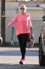 BUSY PHILIPPS Heading to a Gym in Los Angeles 02/02/2020