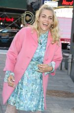 BUSY PHILIPPS Out at Times Square in New York 02/19/2020