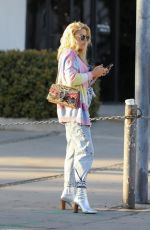 BUVY PHILIPPS Out and About in West Hollywood 02/07/2020