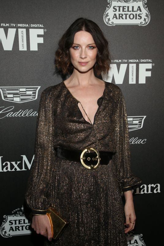 CAITRIONA BALFE at 13th Annual Women in Film Female Oscar Nominees Party in Hollywood 02/07/2020