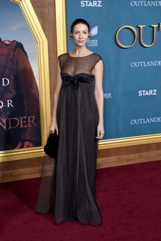 CAITRIONA BALFE at Outlander, Season 5 in Los Angeles 02/13/2020