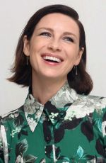 CAITRIONA BALFE at Outlander, Season 5 Press Conference in Los Angeles 02/15/2020