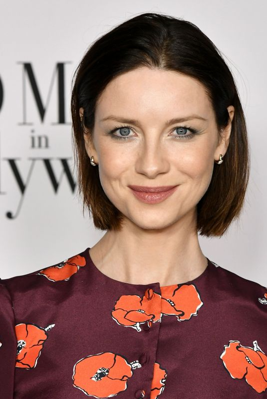 CAITRIONA BALFE at Vanity Fair & Lancome Toast Women in Hollywood in Los Angeles 02/06/2020