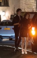 CAMILA CABELLO and Shawn Mendes Night Out in London 02/14/2020