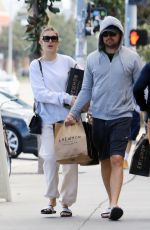 CAMILA MORRONE and Leonardo Dicaprio Out Shopping in Los Angeles 02/24/2020