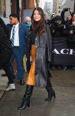 CAMILA MORRONE Arrives at Coach Fashion Show in New York 02/11/2020