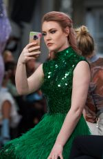 CAMILLA KERSLAKE at Atelier Zuhra Fashion Show at LFW in London 02/15/2020