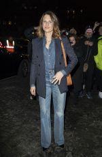 CAMILLE COTTIN Arrives at Celine Fashion Show in Paris 02/28/2020