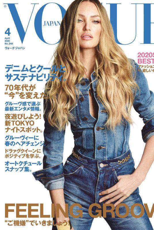 CANDICE SWANEPOEL in Vogue Magazine, Japan April 2020