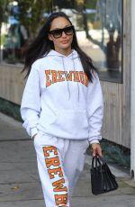 CARA SANTANA Arrives at Kate Somerville Spa in Los Angeles 02/24/2020