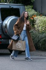 CARA SANTANA Out and About in Beverly Hills 02.16.2020