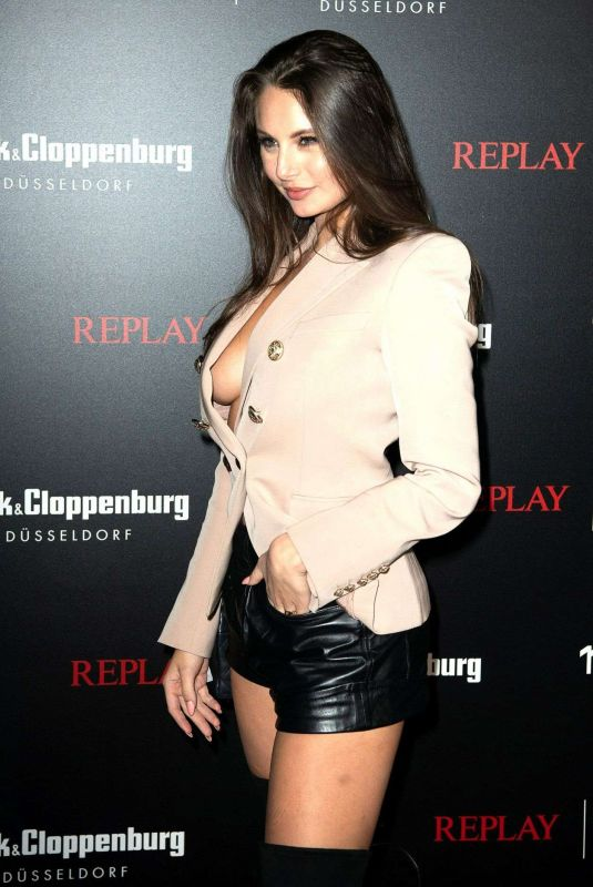 CARINA ZAVLINE at Replay Jeans VIP Party 02/14/2020